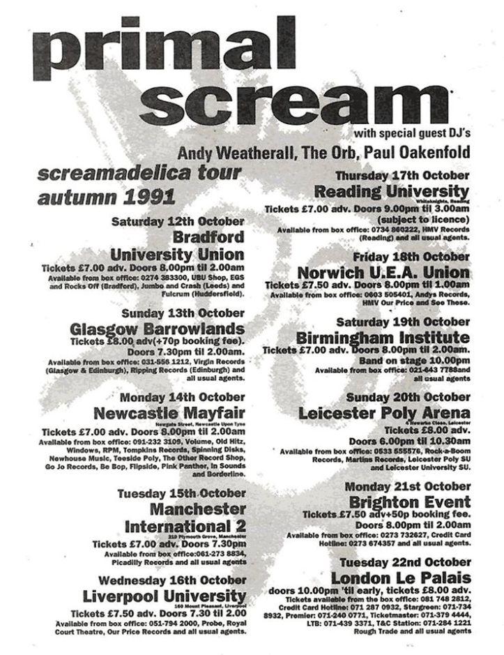 Screamadelica 91